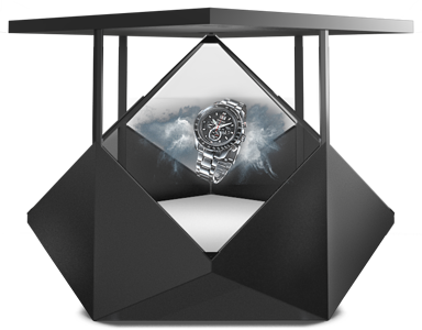 Premium Hologram display for events and tradeshows