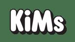 KIMs logo hvid