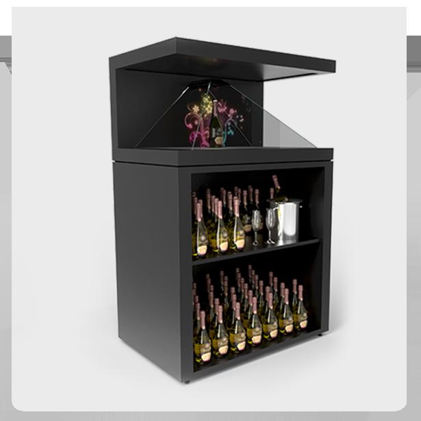 Dreamoc-XL3-stand-with-shelf