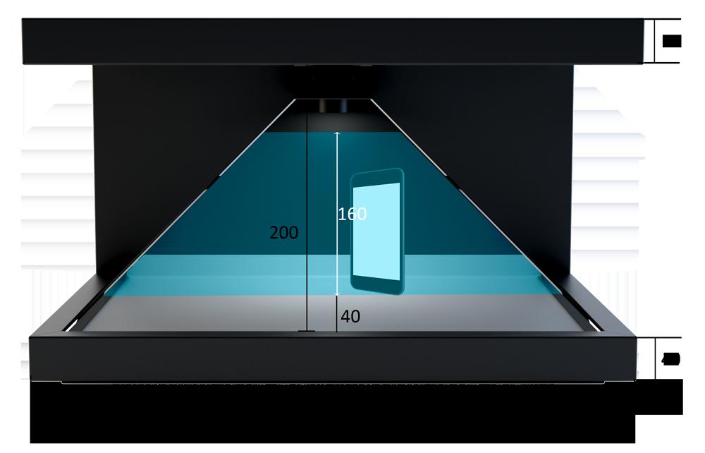 Dreamoc HD3.2 measurement front