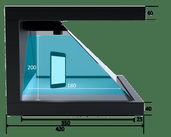 Dreamoc HD3.2 measurements side