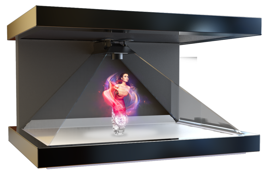 RealFiction HD3 - 3D Holographic Displays