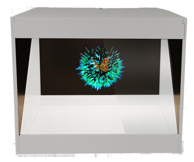 Pop3b - RealFiction Holographic Display