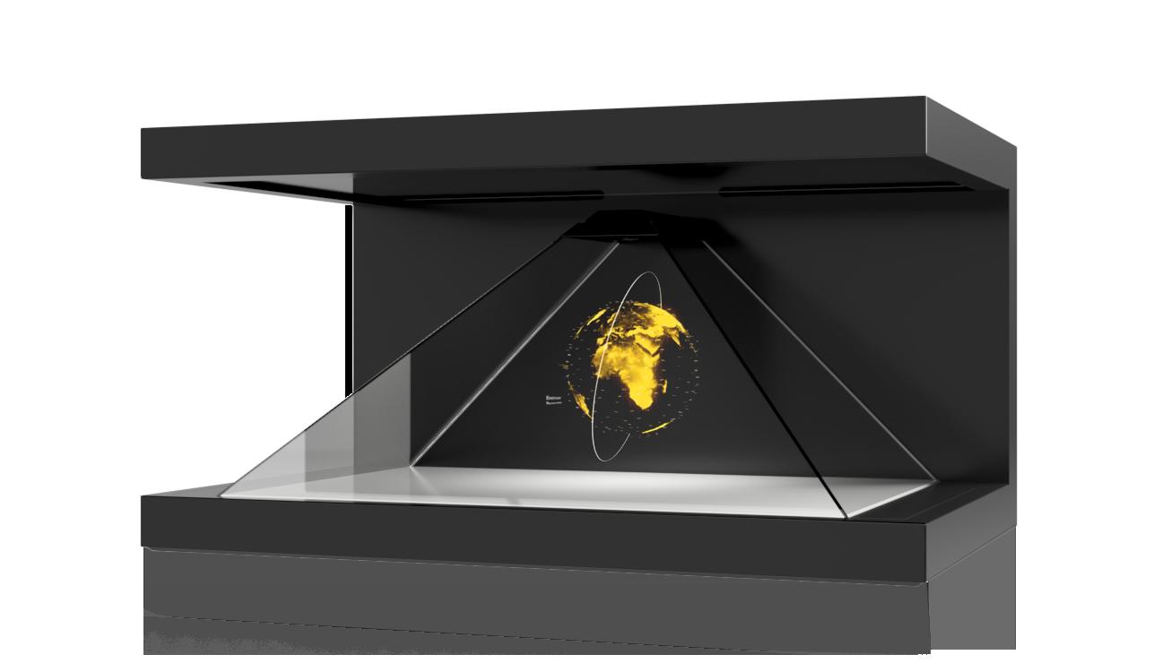 Dreamoc XL3 - Pyramid shaped Hologram Display