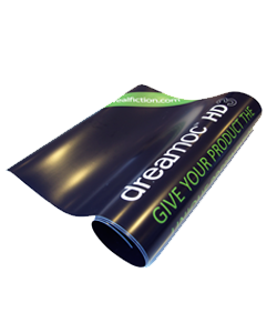 Magnetic skins allow for quick and reusable branding of your tradeshow hologram