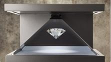 3D rotating diamond Realfiction shop