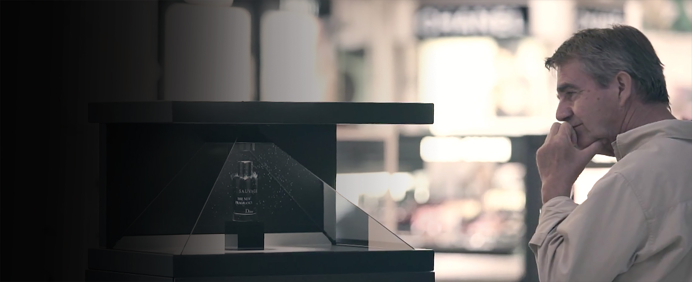 Dreamoc XXL3 - Holographic display