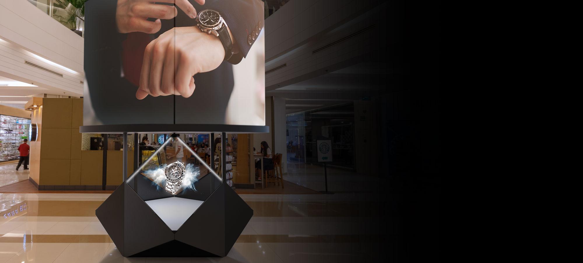 Dreamoc Diamond in shopping mall