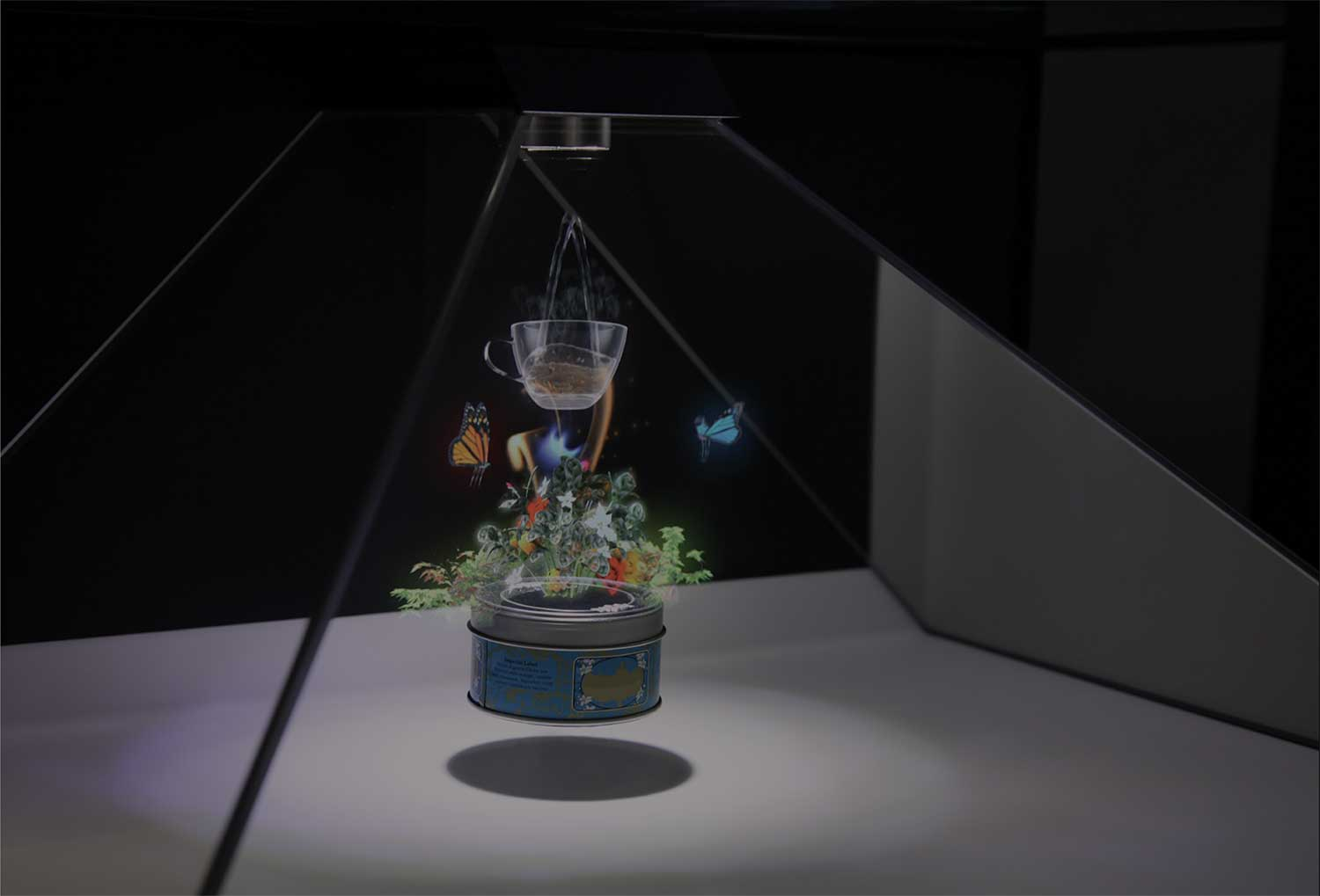 3D holographic content for hologram display