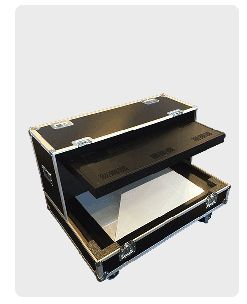 Dreamoc XL3 Flight Case for Hologram display