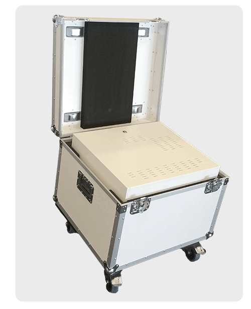 Flightcase for 3D Holographic Displays