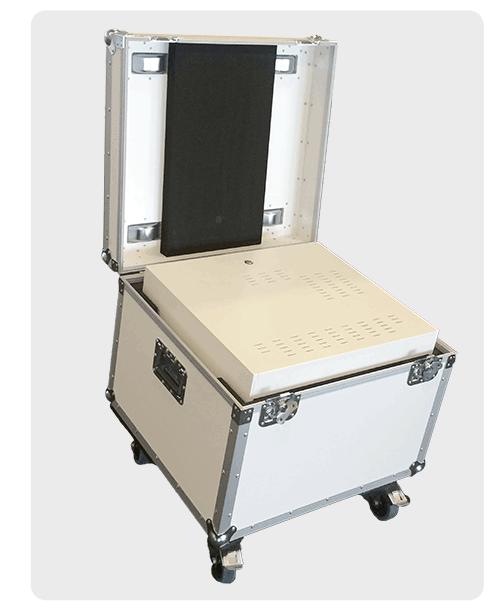 Flightcase for 3D Holographic Displays