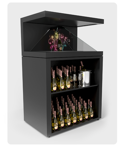 Shelf option stand for Dreamoc XL3